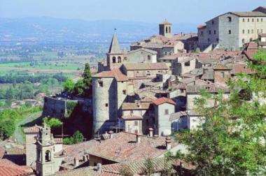 Anghiari-vista centro storico
