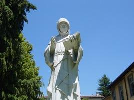 Sansepolcro- Luca Pacioli statua