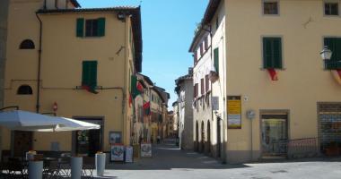 sansepolcro- piazza santa marta via xx settembre 2