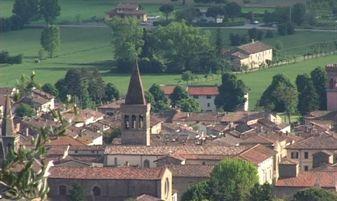 sansepolcro- centro storico veduta