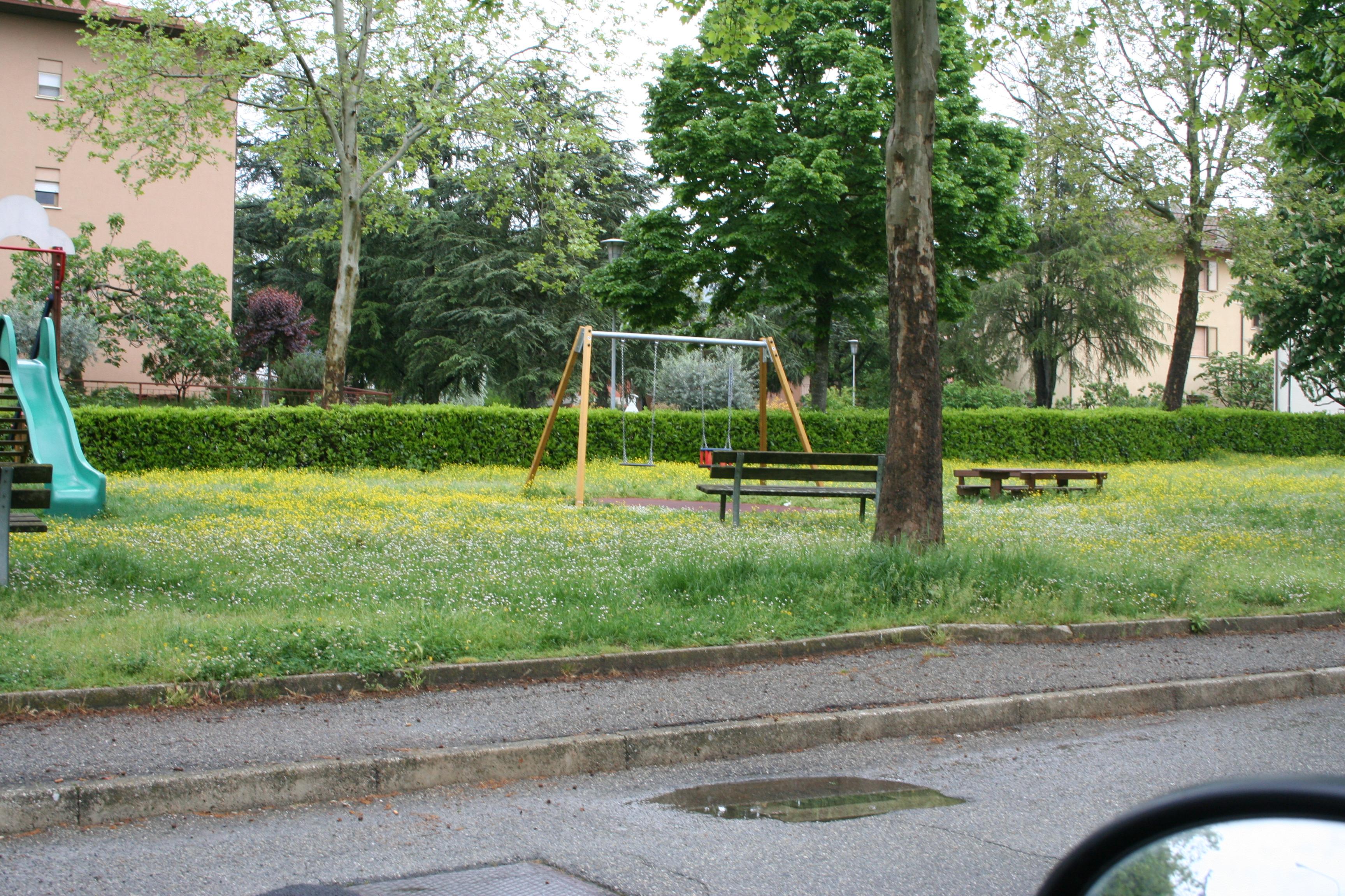 sansepolcro- giardino pubblico via clarke