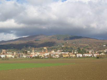 sansepolcro- valle veduta collina