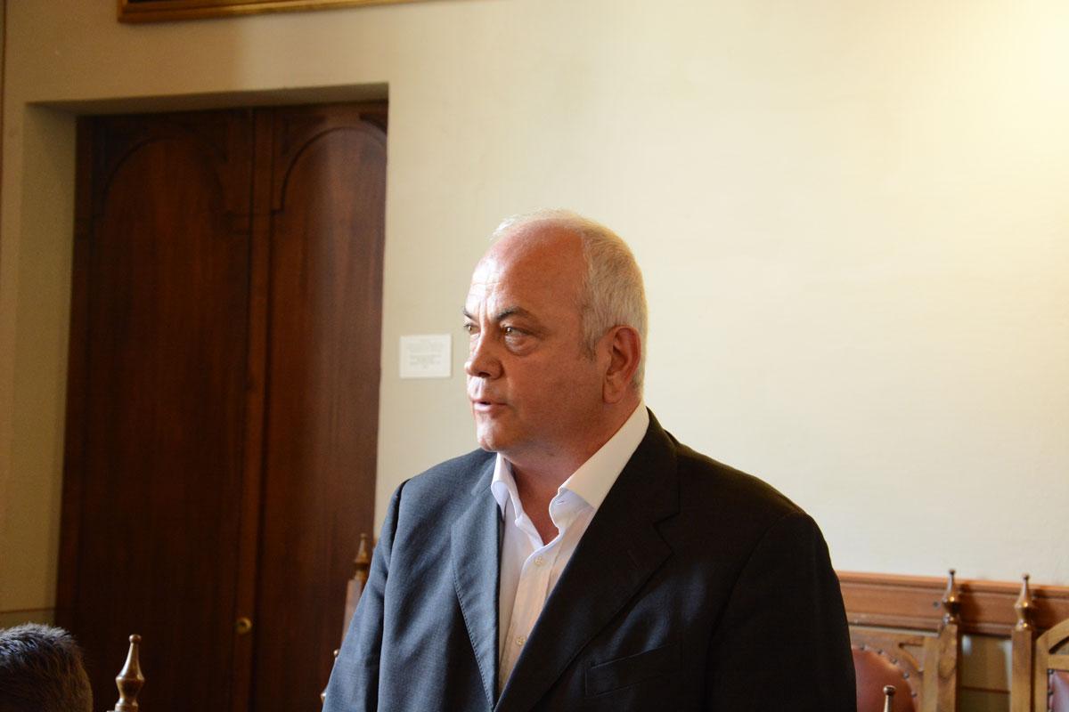 sansepolcro- sindaco mauro cornioli in consiglio comunale