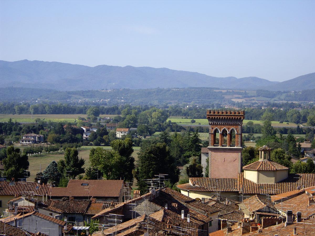 Sansepolcro- veduta dalle colline