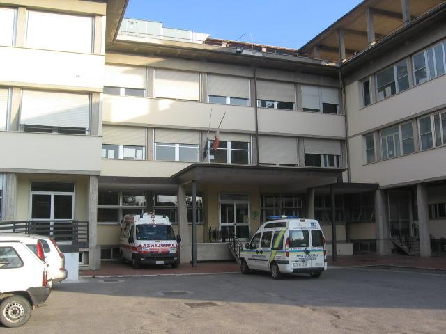 sansepolcro- ospedale di zona di sansepolcro