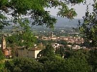 sansepolcro- centro storico veduta dalle colline