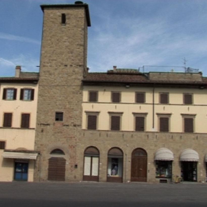 sansepolcro- piazza torre di berta