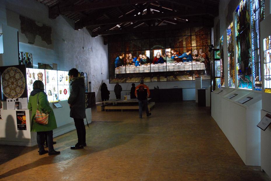 museo vetrata