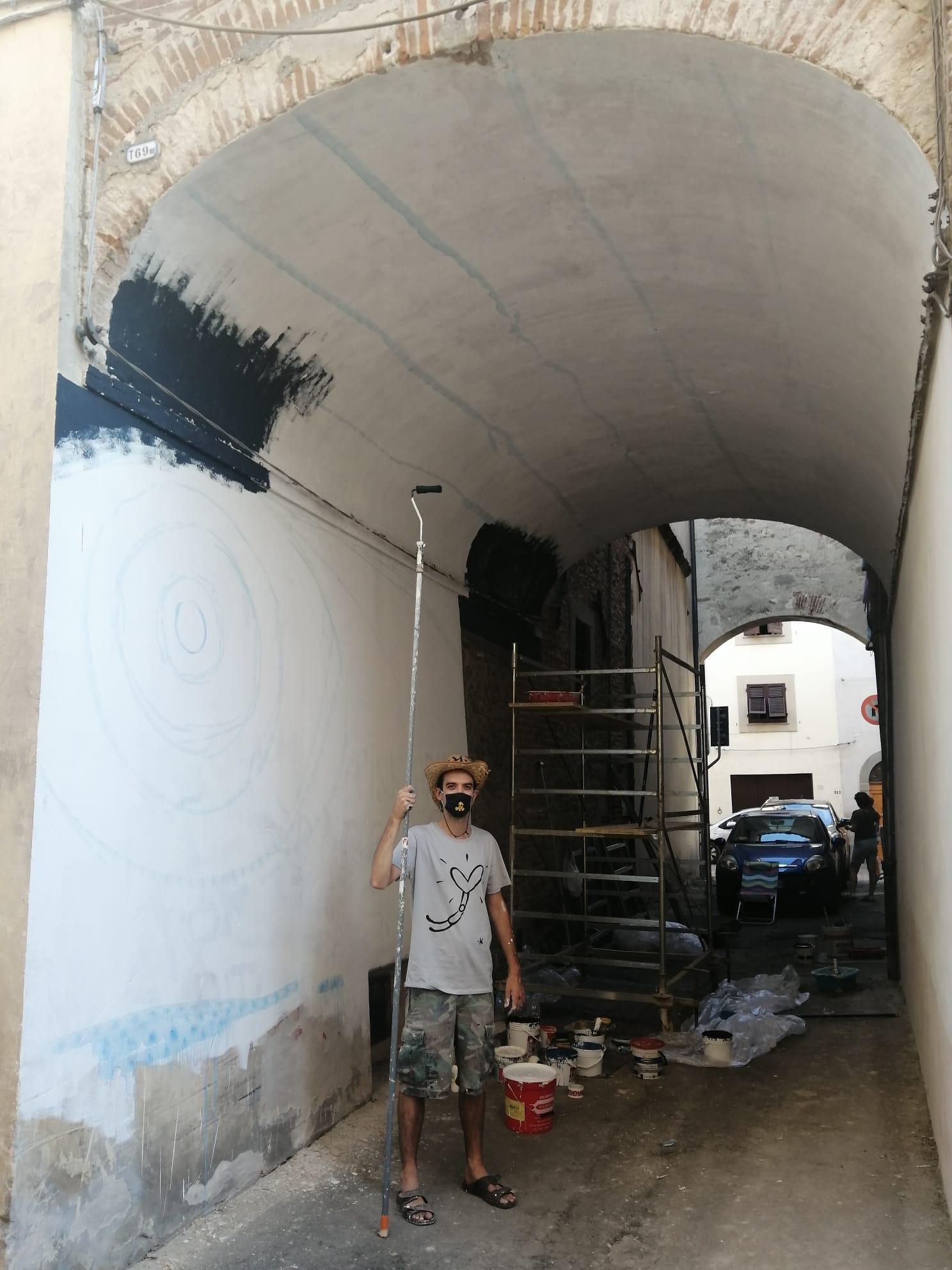 writer street art