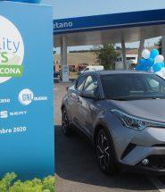 Toyota C-HR ibrida a metano