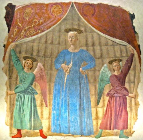 monterchi- madonna del parto piero della francesca